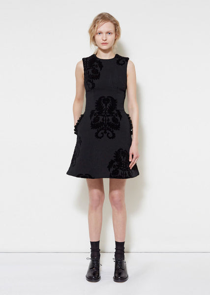 Simone Rocha Baroque Tapestry Dress La Garconne