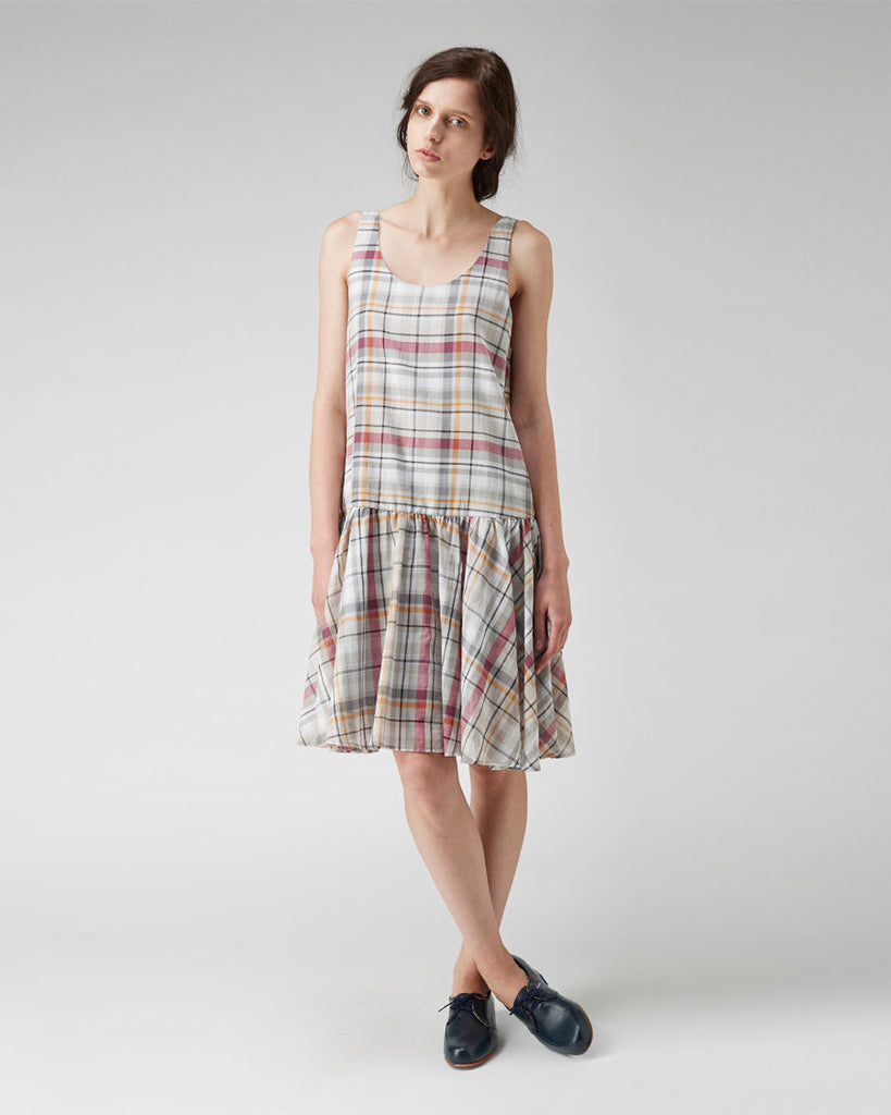 Plaid Tank Dress