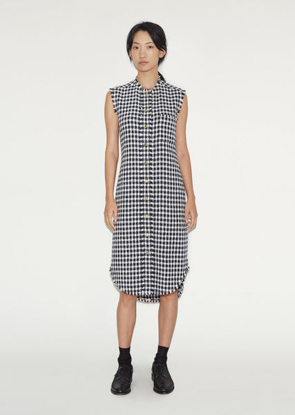 Thom Browne Sleeveless Shirtdress La Garconne