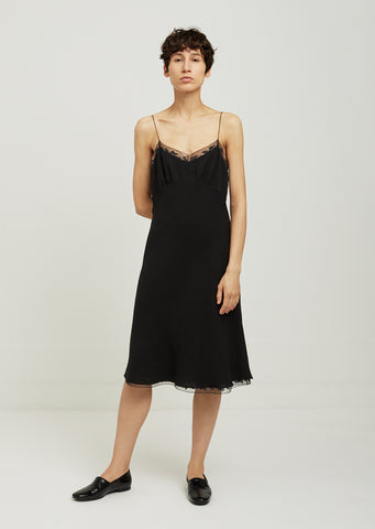 Santi Lace Trim Slip Dress