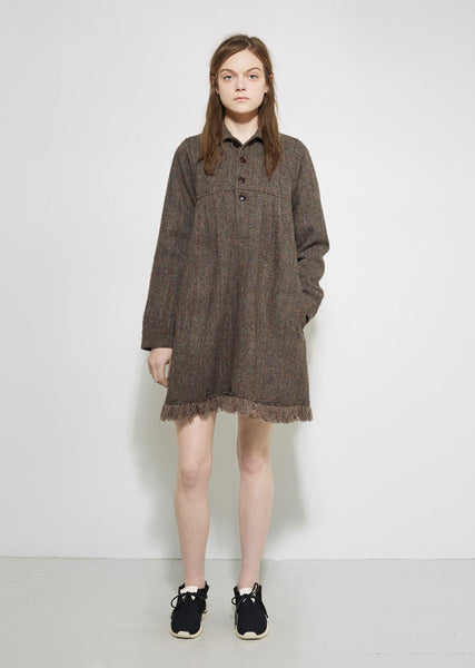 VISVIM Nome Harris Tweed Dress La Garconne