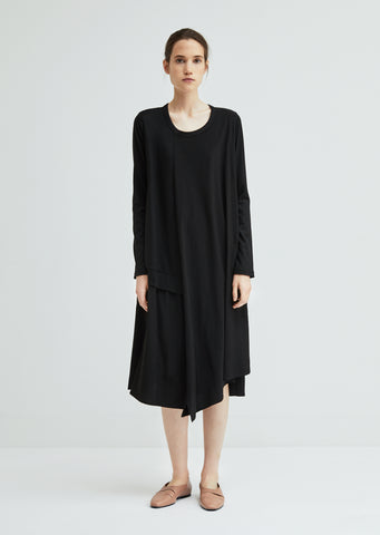 Long Sleeve Double Layered Dress