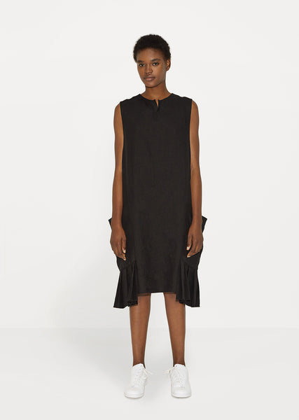 Pleated Hem Dress