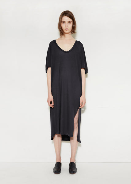 Loose Raglan Big Tee Dress