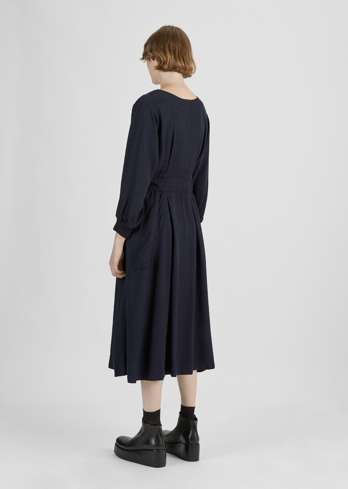 Tencel Uniform Dress