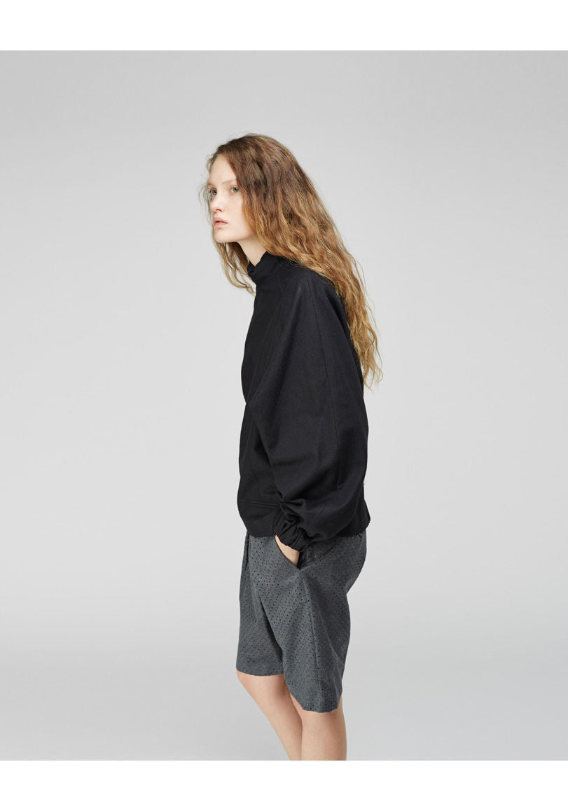 Pecun Perforated Wool Shorts - RTV