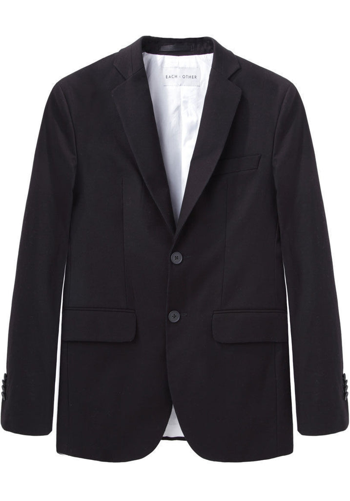 Washed Gabardine Blazer