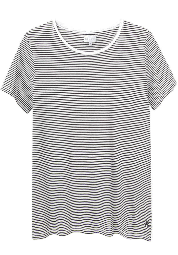 Washed Striped T-Shirt
