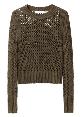 Abut Open Weave Pullover