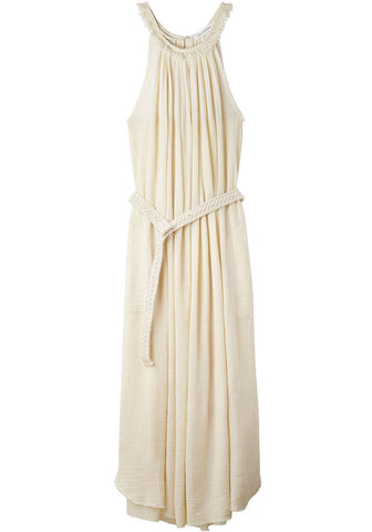 Cola Long Gauze Dress