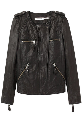 Kady Washed Leather Jacket