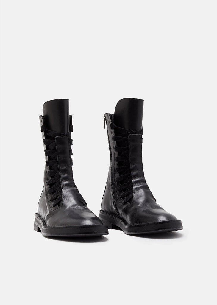 Leather Biker Boots