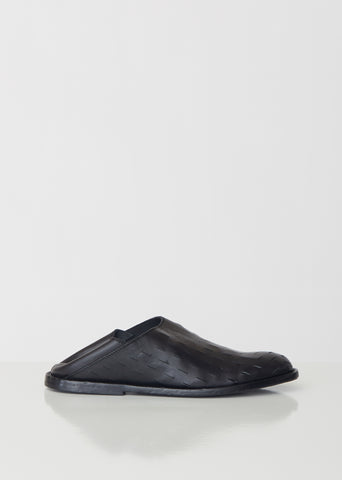 Leather Fold-Down Flats
