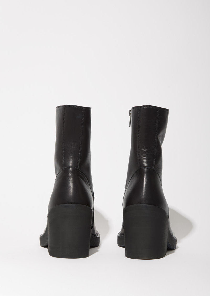 Low Heel Ankle Boot