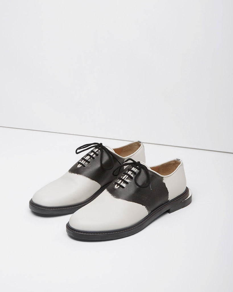 Trompe L'oeil Saddle Shoe