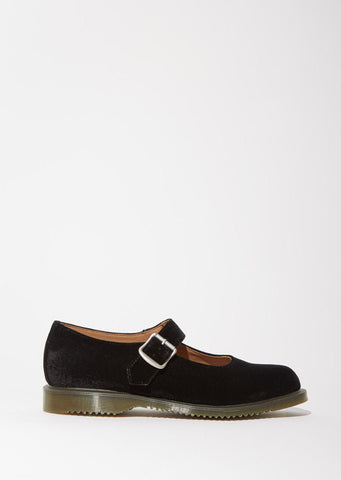 Dr. Martens Velvet Mary Jane