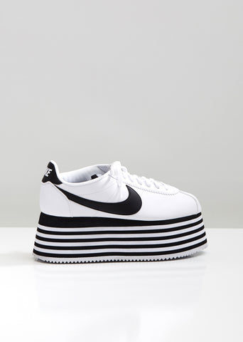 Nike Striped Platform Cortez Sneakers