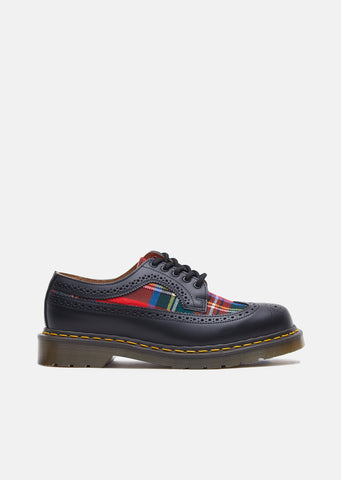 X Dr. Martens Tartan Lace Up Shoes