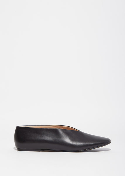 Pointed Vamp Slipper Flats