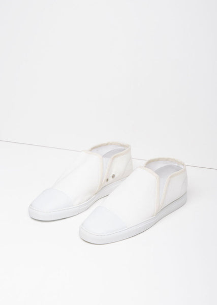 Lemaire Canvas Slip On Shoes La Garconne