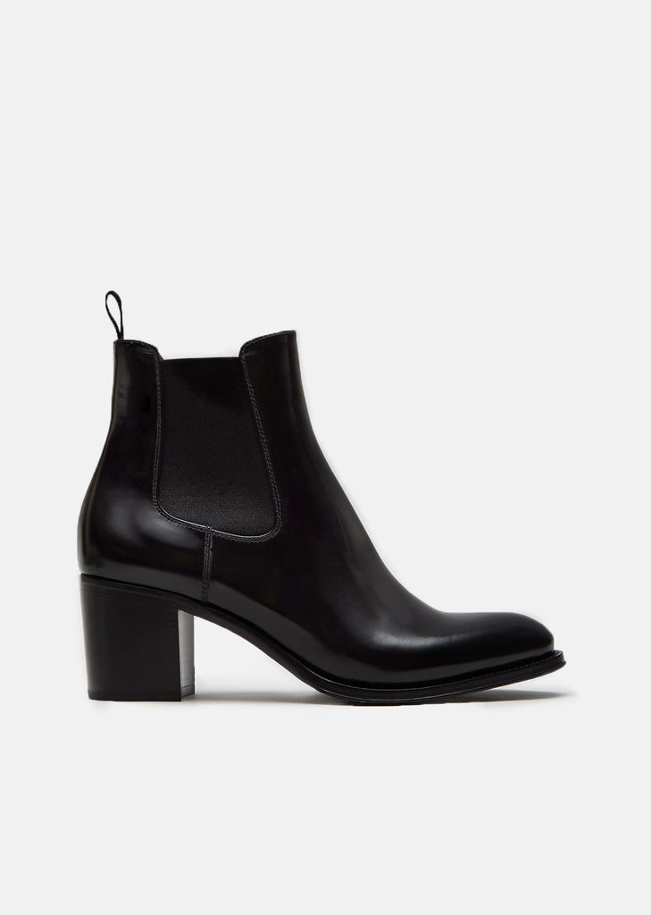 Shirley Polished Fume Ankle Boots