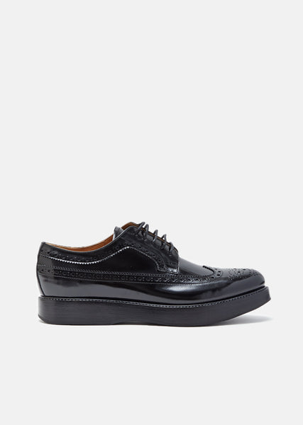 Opal Polished Fume Brogues