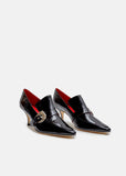 Coupe Patent Leather Heels