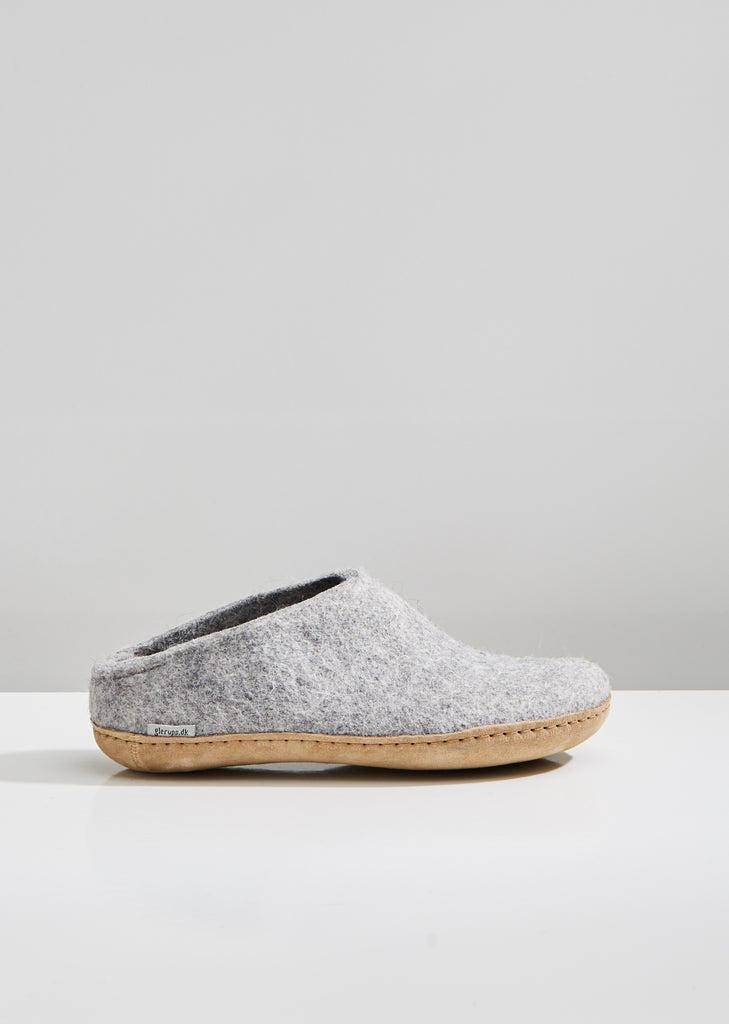 Felted Wool House Slippers