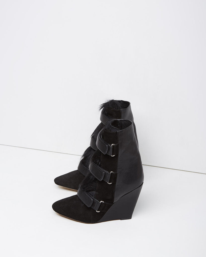 Pierce Suede Wedge