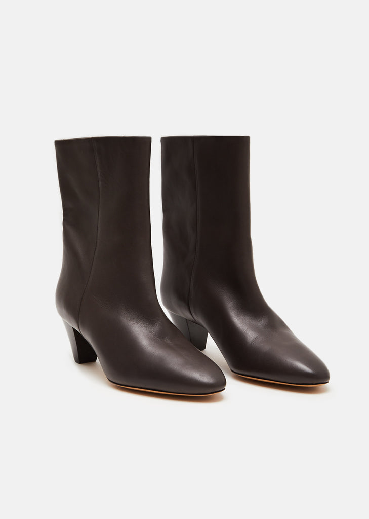 Dyna Pointed Toe Leather Boots
