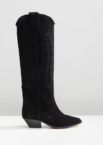 Denzy Tall Suede Boots