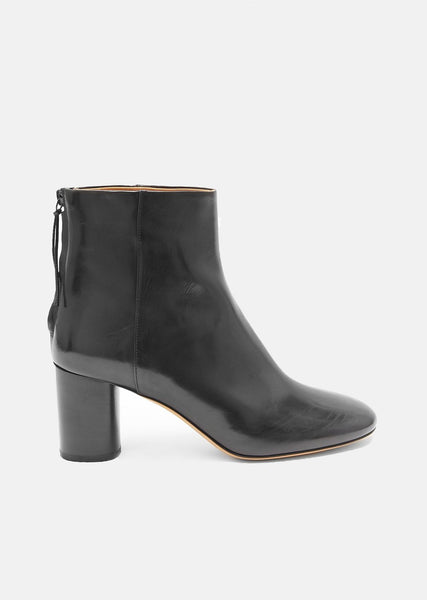 Ritza Round Toe Leather Boots