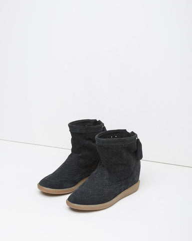 Basley Suede Moccasin Boot