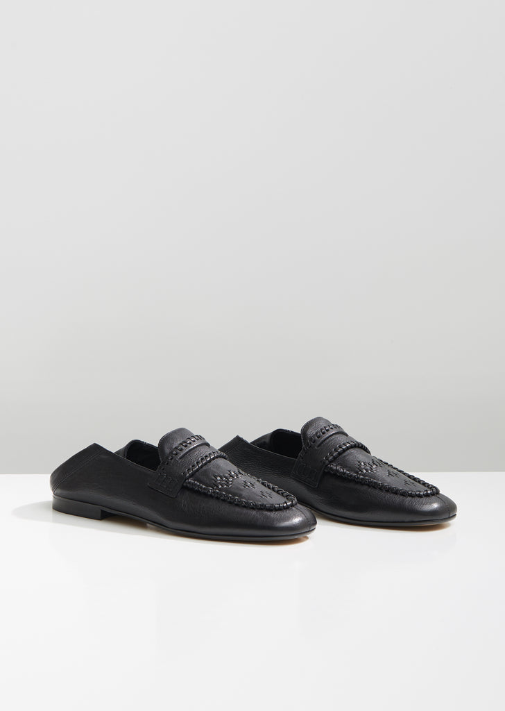 Firven Braided Leather Loafers