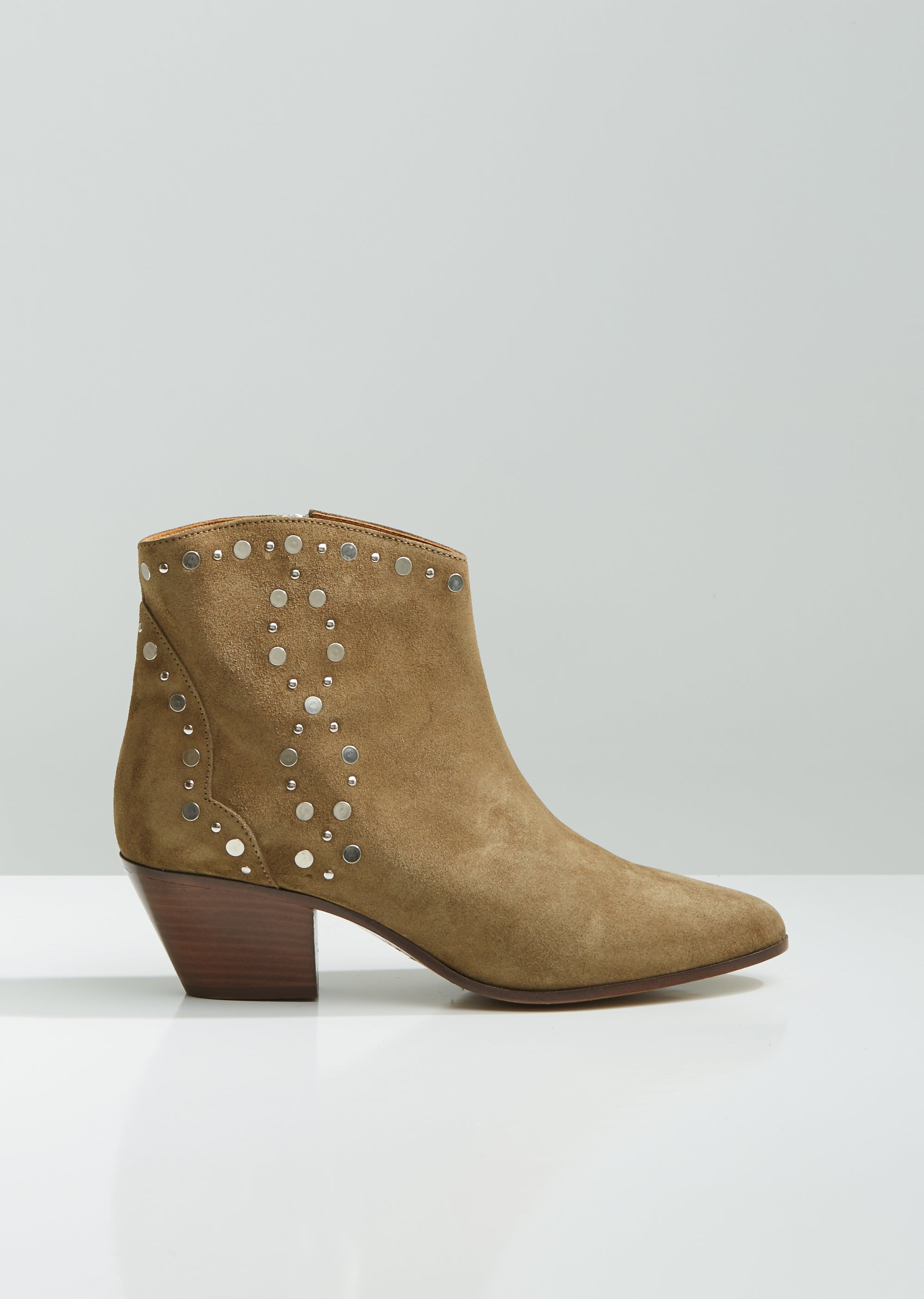 top-rated genuine cheap prices nice cheap Dacken Studded Suede Western Boots - EU 36 / Taupe
