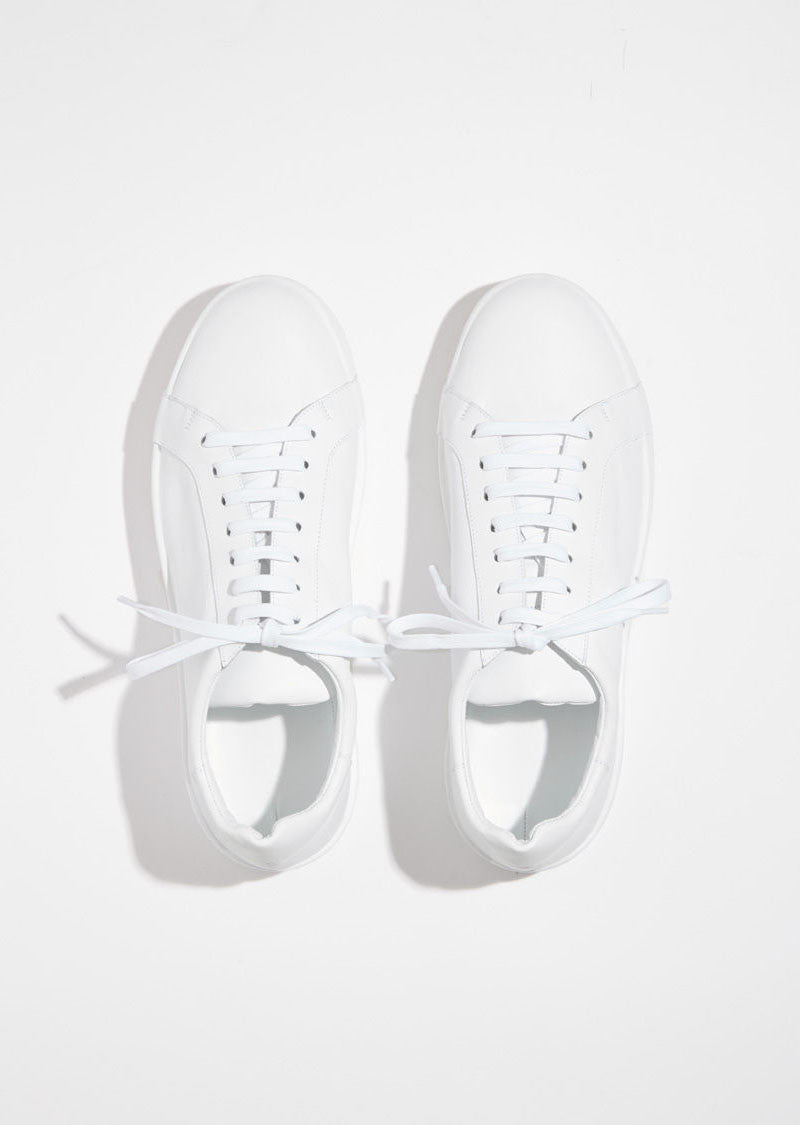 All White Sneaker