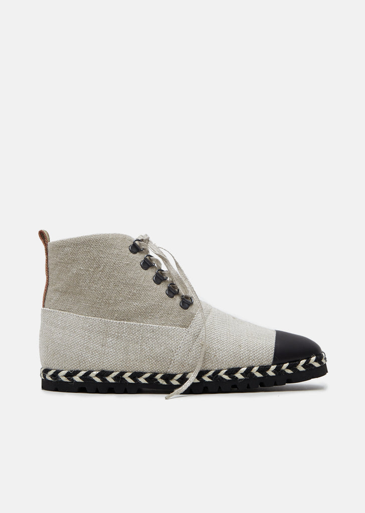 Espadrille Ankle Boots