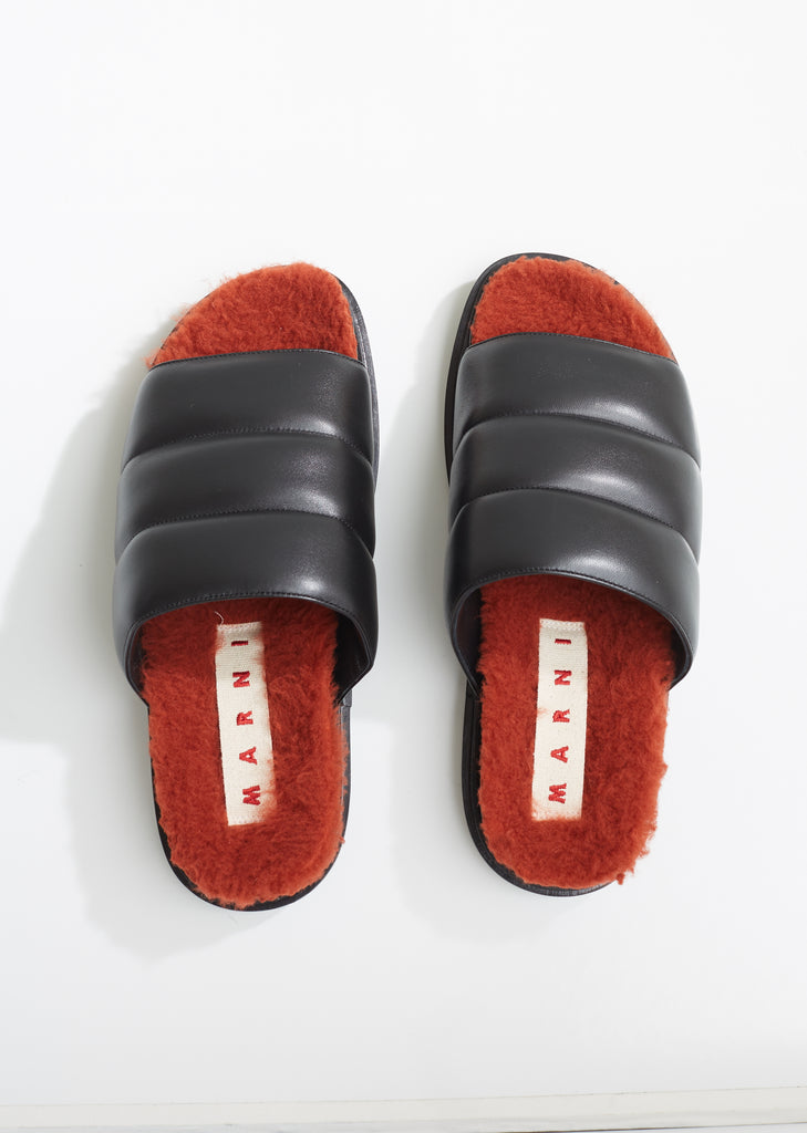 Sheep Leather Fussbett Sandals