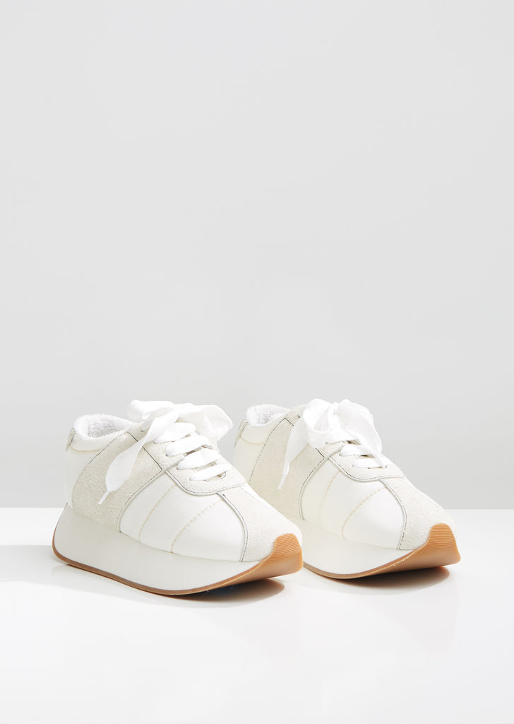 Big Foot Calfskin Sneakers