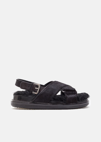 Fur Fussbett Sandals