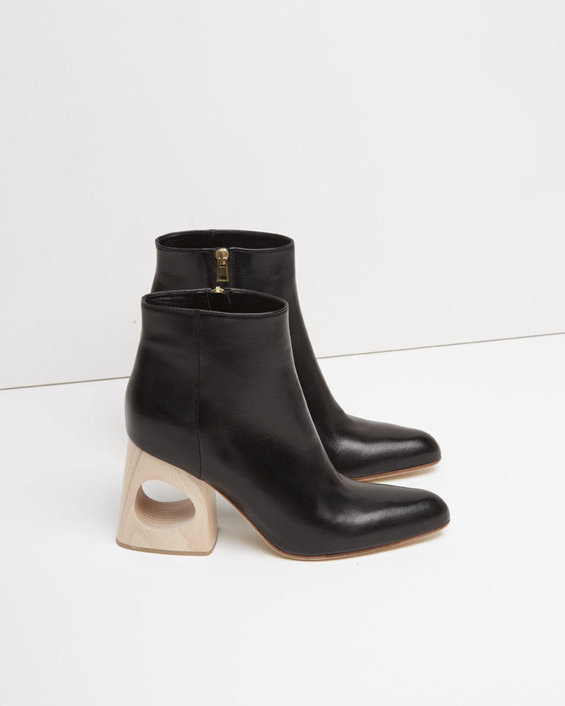 Cutout Ankle Boot
