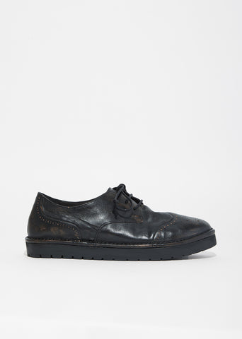 Sancrispa Alta Distressed Leather Brogues