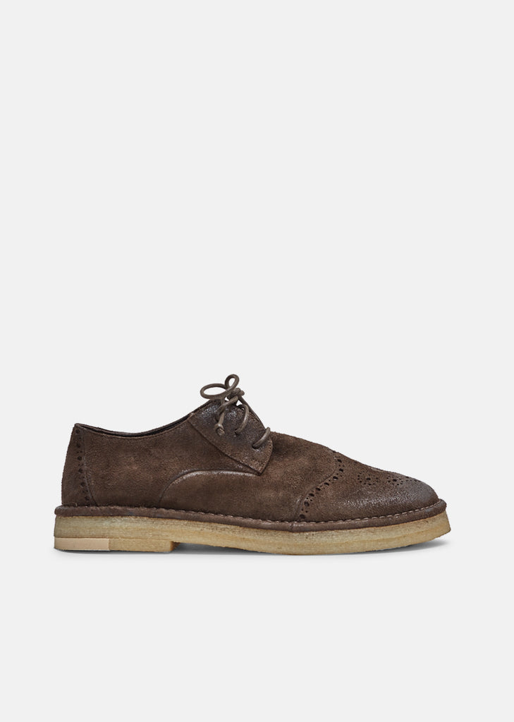 Suede Oxfords