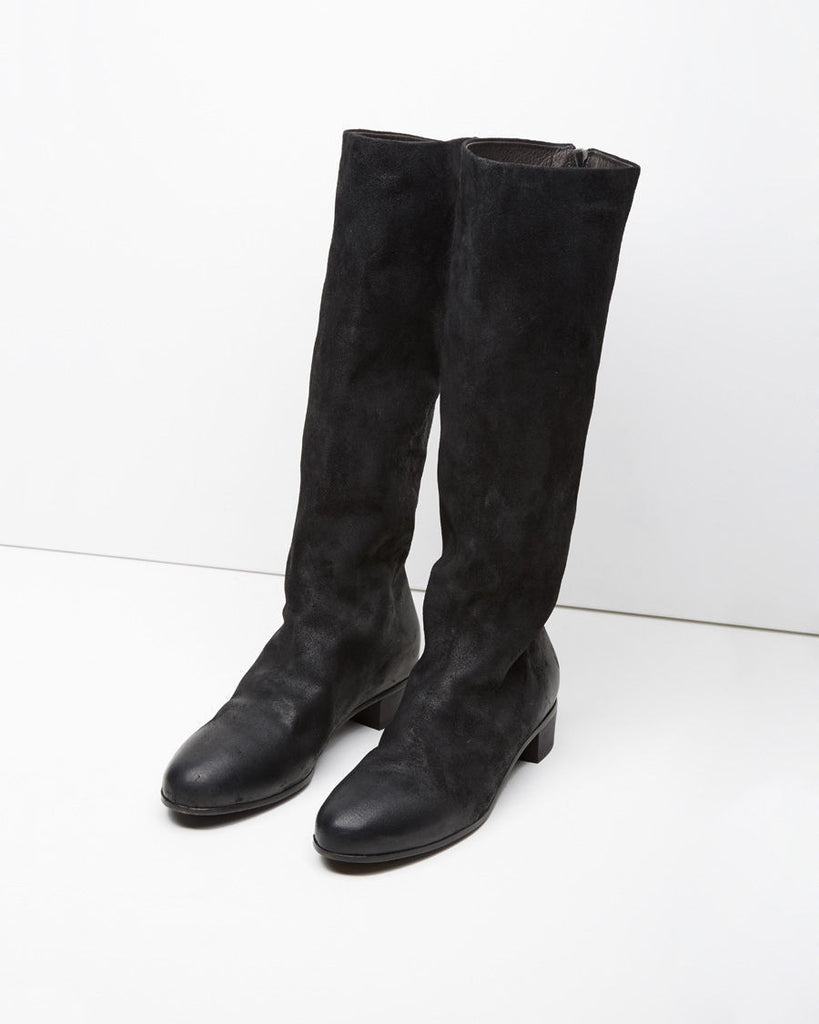 Back Zip Knee-High Boot