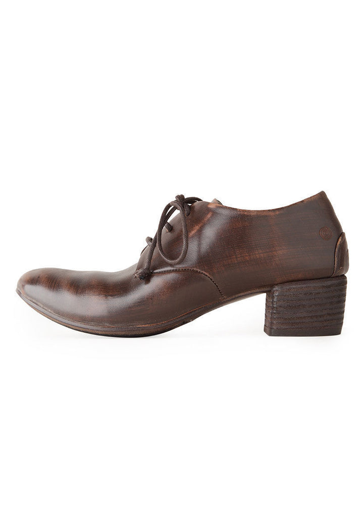 Mid-heel Lace Up Oxford