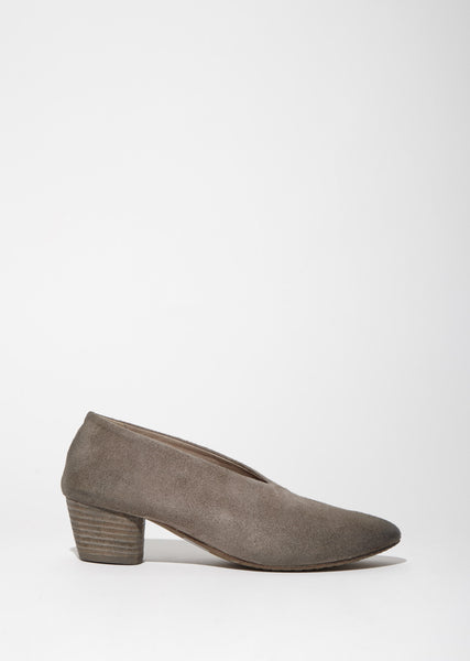 Coltello Distressed Suede Pump