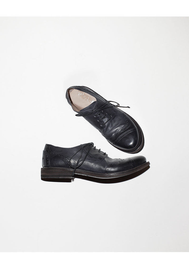 Wingtip Oxford Lace Ups