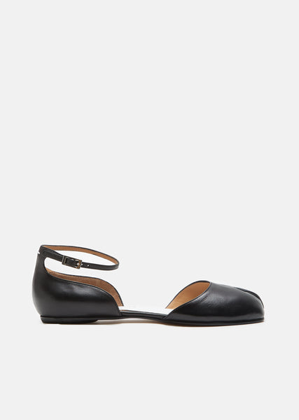 Tabi Leather Mary Janes