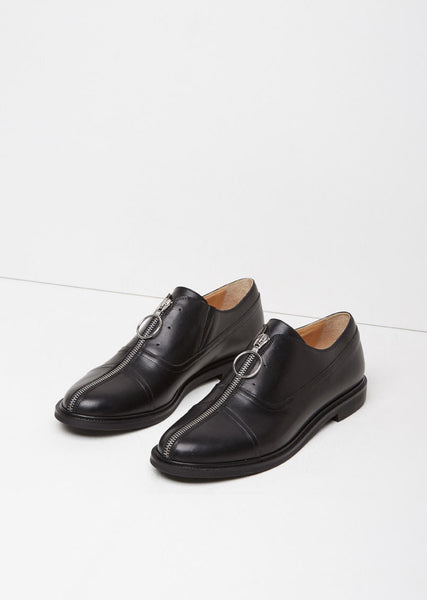 MM6 Maison Margiela Zip Front Oxford La Garconne