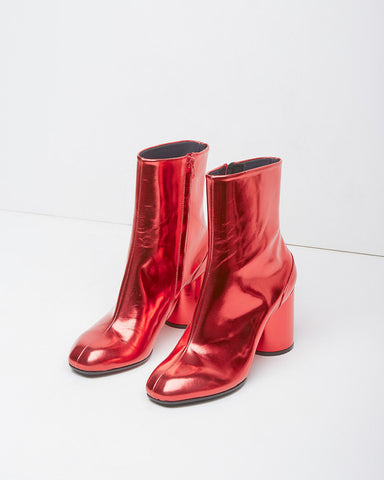 Foil Ankle Boot